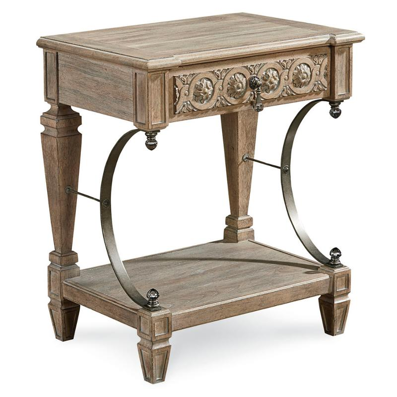 Salvage Bedside Table 233141 2802 A R T Furniture Arch Bedroom Nightstand