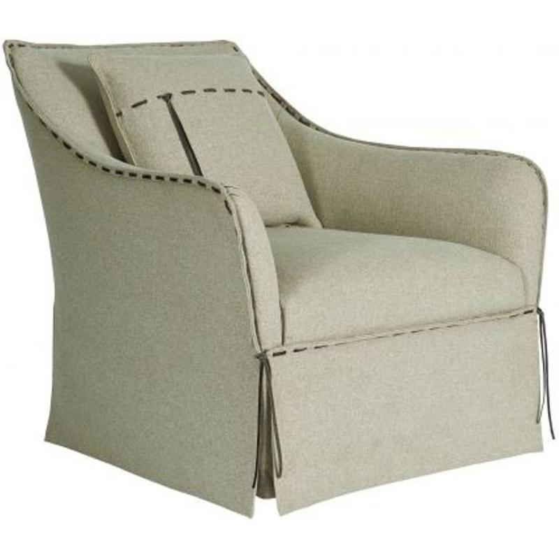 547516-5001aa A R T Furniture American Chapter Tryon Flax Swivel Chair