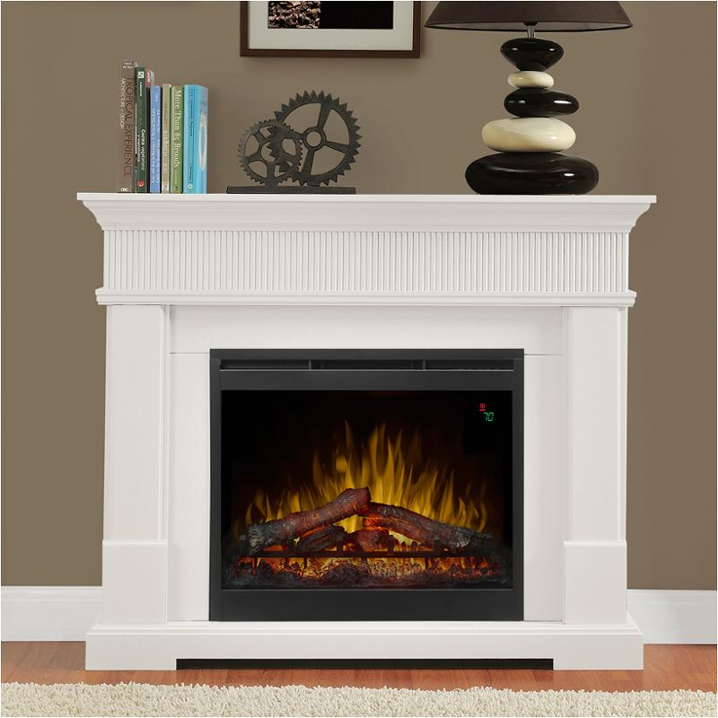 dimplex electric bed fireplace firebox w elliot ember white products fireplaces