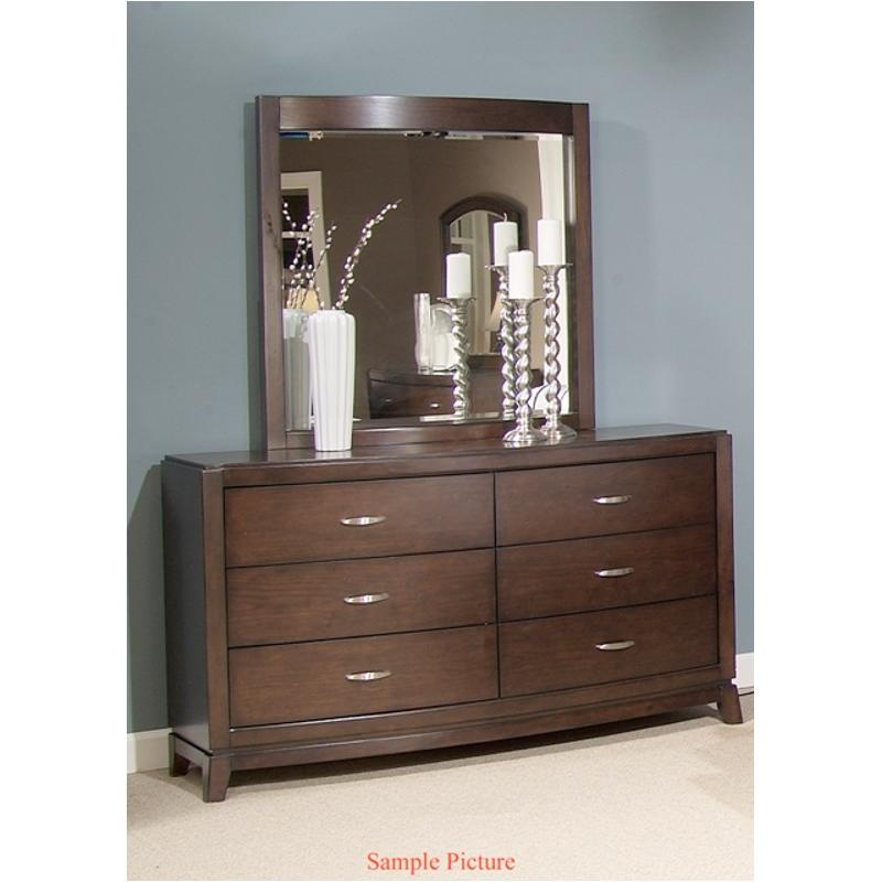 505 Br52 Liberty Furniture Avalon Bedroom Lighted Mirror
