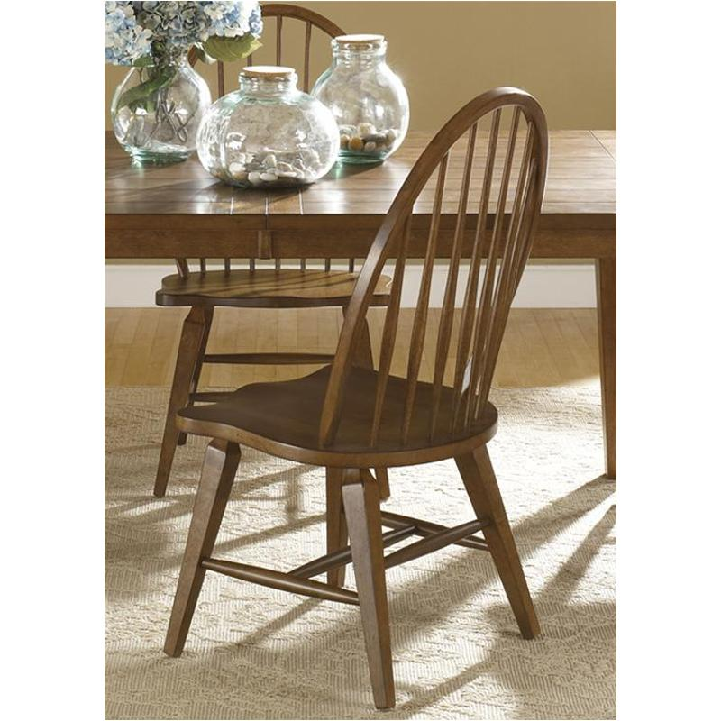 382 C1000s Liberty Furniture Hearthstone   Oak Dining Room Dining Chair