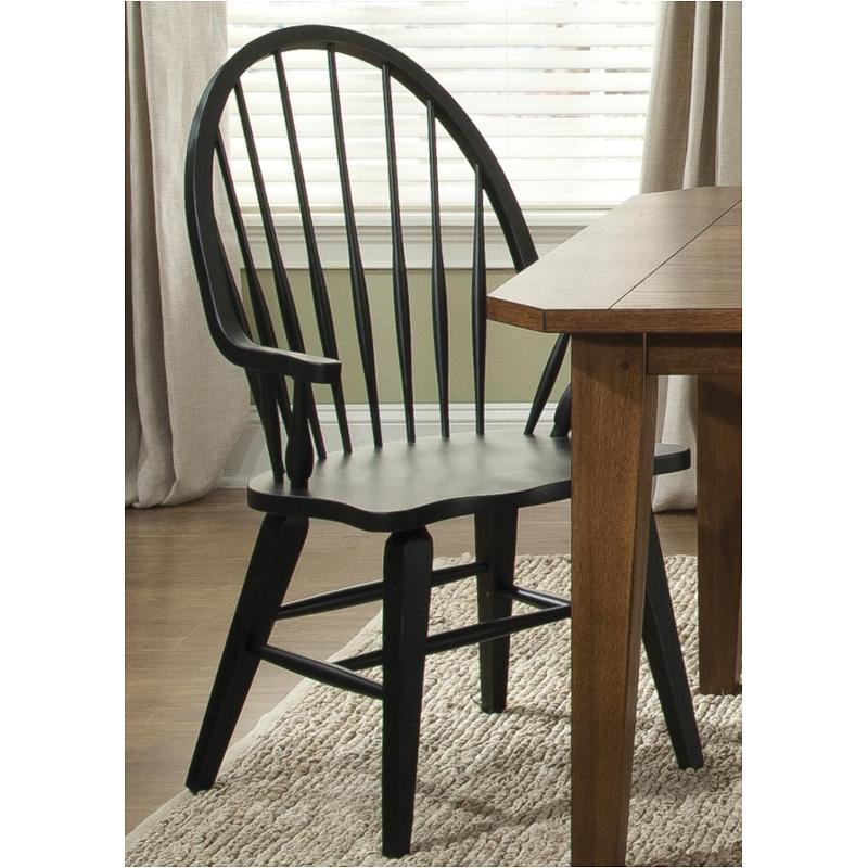 482 C1000a Liberty Furniture Hearthstone   Black Dining Room Dining Chair