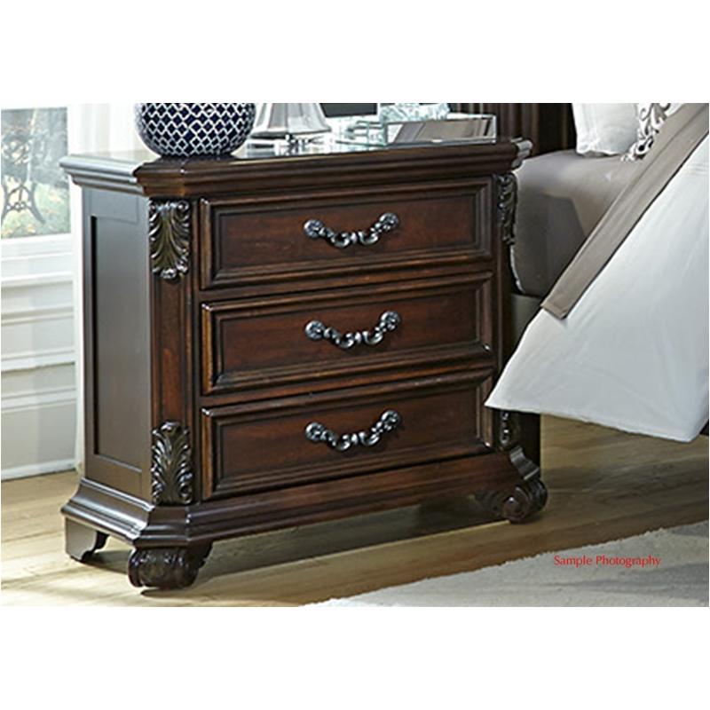 737 Br61 Liberty Furniture Messina Estates 3 Drawer Night
