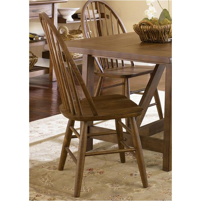 139-c1000s Liberty Furniture Farmhouse Windsor Back Side Chair