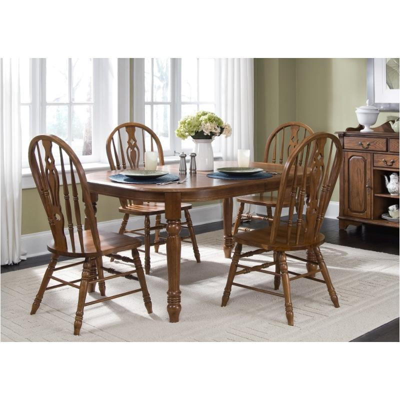 18 T566 Liberty Furniture Old World Dining Room Dinette Table