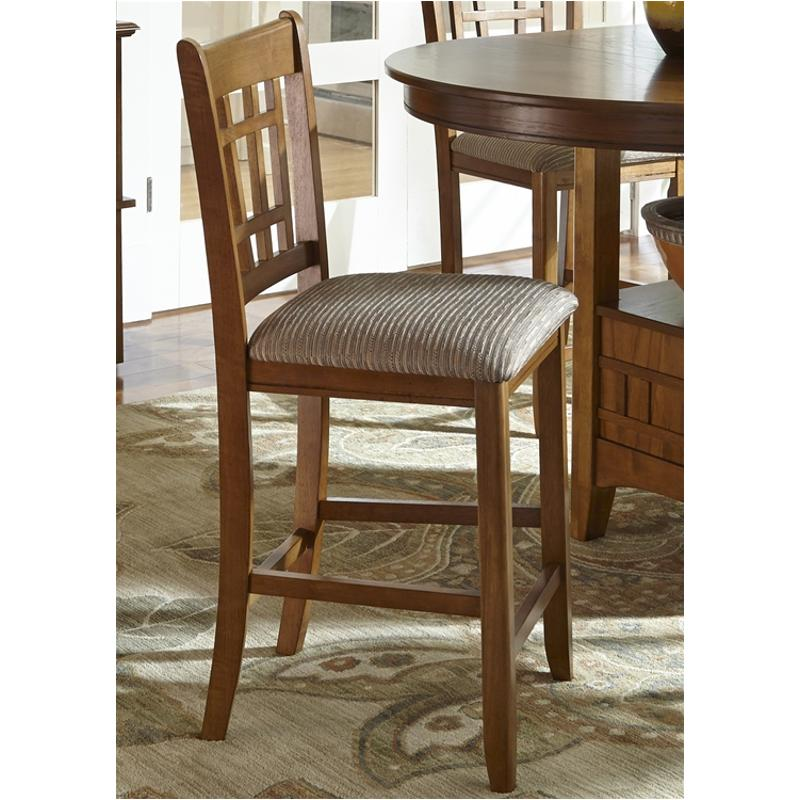 25-bs8624 Liberty Furniture 24 Inch Upholstered Barstool
