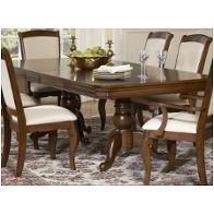 908 T4496 Liberty Furniture Louis Philippe Drop Pedestal Table