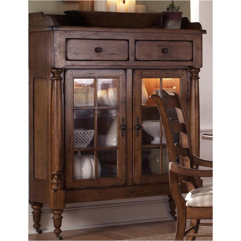 17-ch4866k Liberty Furniture Treasures - Oak And Black Dining Room Curio  sc 1 st  Home Living Furniture & 17-ch4866k Liberty Furniture Display Cabinet - Oak