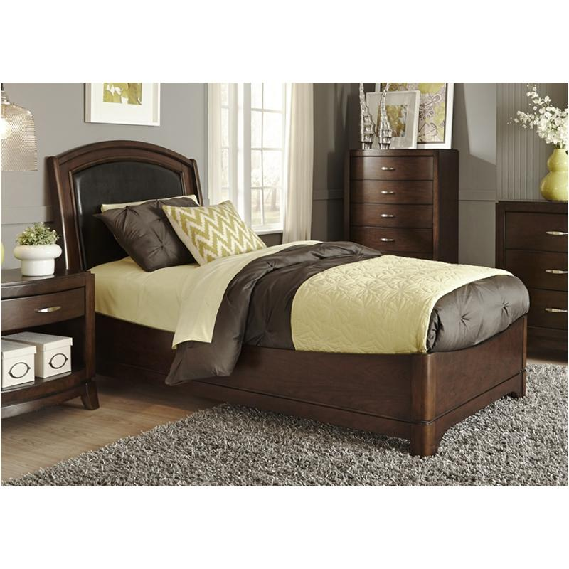 505-br10hl-st Liberty Furniture Full Leather Storage Bed