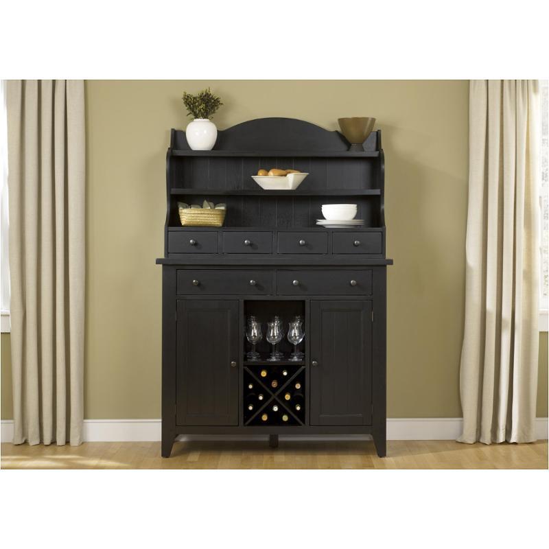 482 Sr5074h Liberty Furniture Hearthstone   Black Dining Room Server