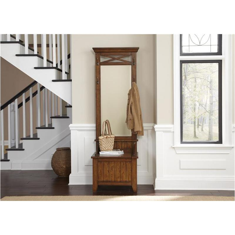 382 Ot1012t Liberty Furniture Hearthstone Oak Hall Tree