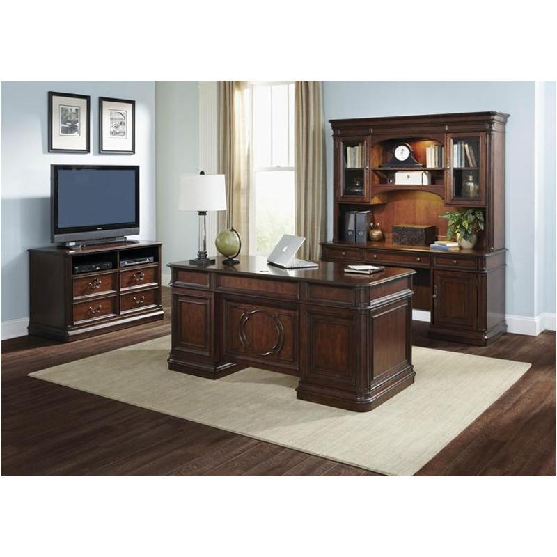 273-ho105t Liberty Furniture Brayton Manor Jr Executive Desk