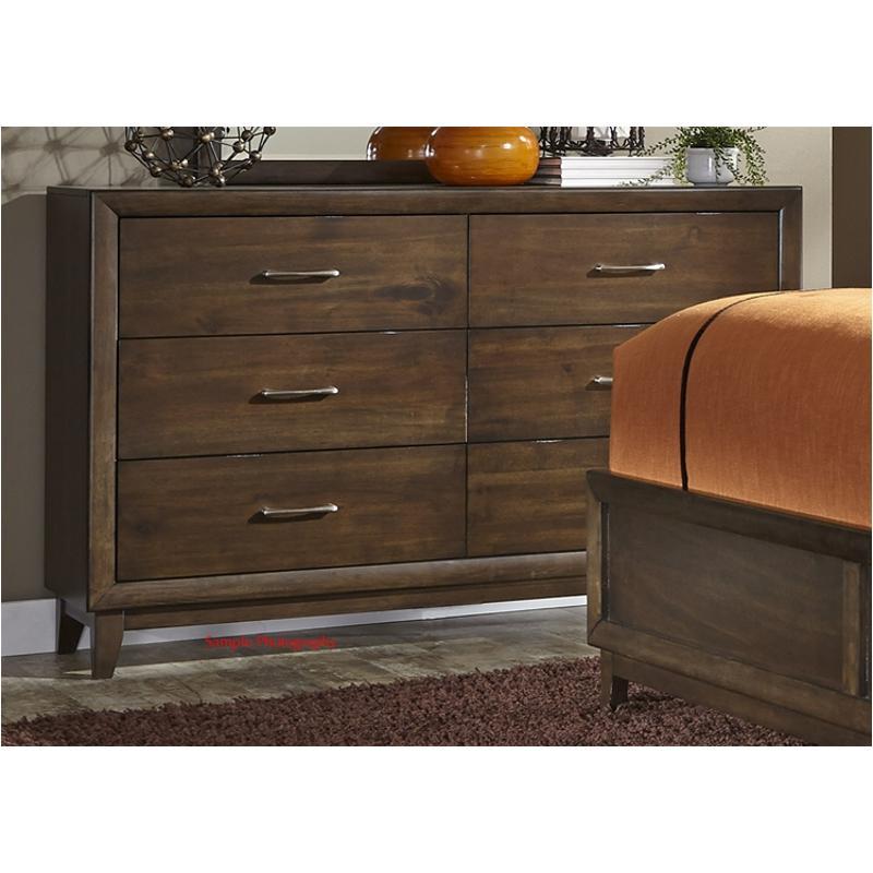 365 Br31 Liberty Furniture Hudson Square 6 Drawer Dresser