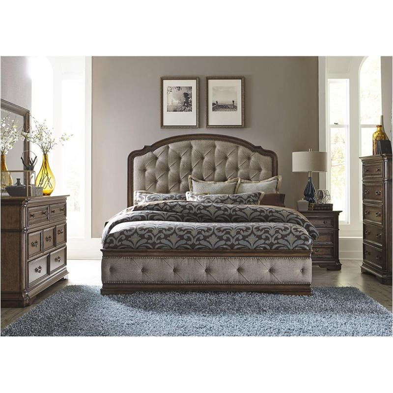 487-br15hu Liberty Furniture Amelia King Upholstered Bed