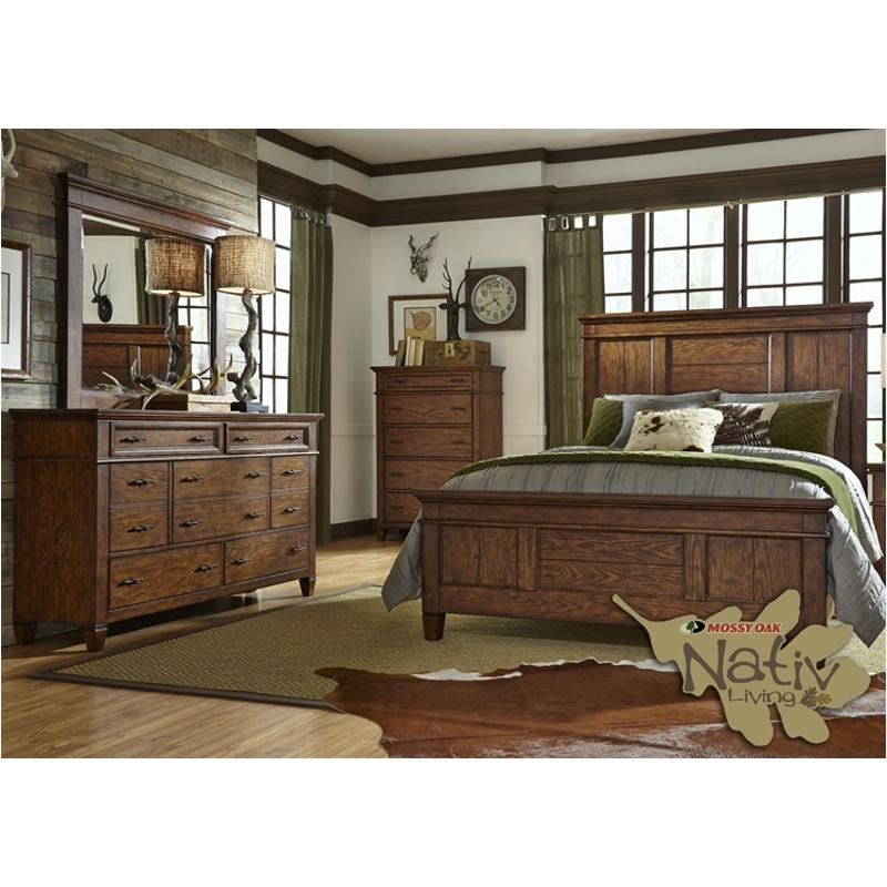 616 Br13 Liberty Furniture Rocky Mountain Queen Panel Bed