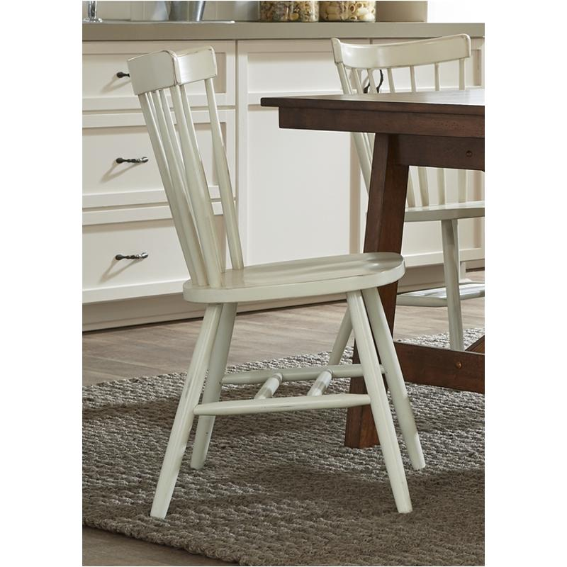28 C50 Liberty Furniture Copenhagen Side Chair Side White