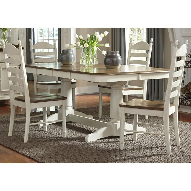 278 T4202 Liberty Furniture Springfield Dining Room Table