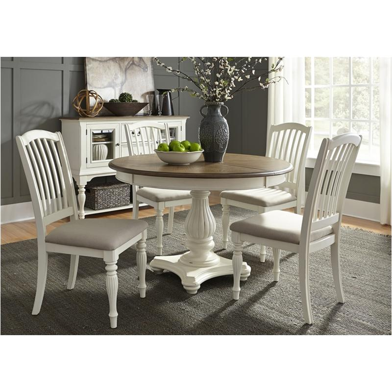 334-t4860 liberty furniture pedestal table Dinette Table