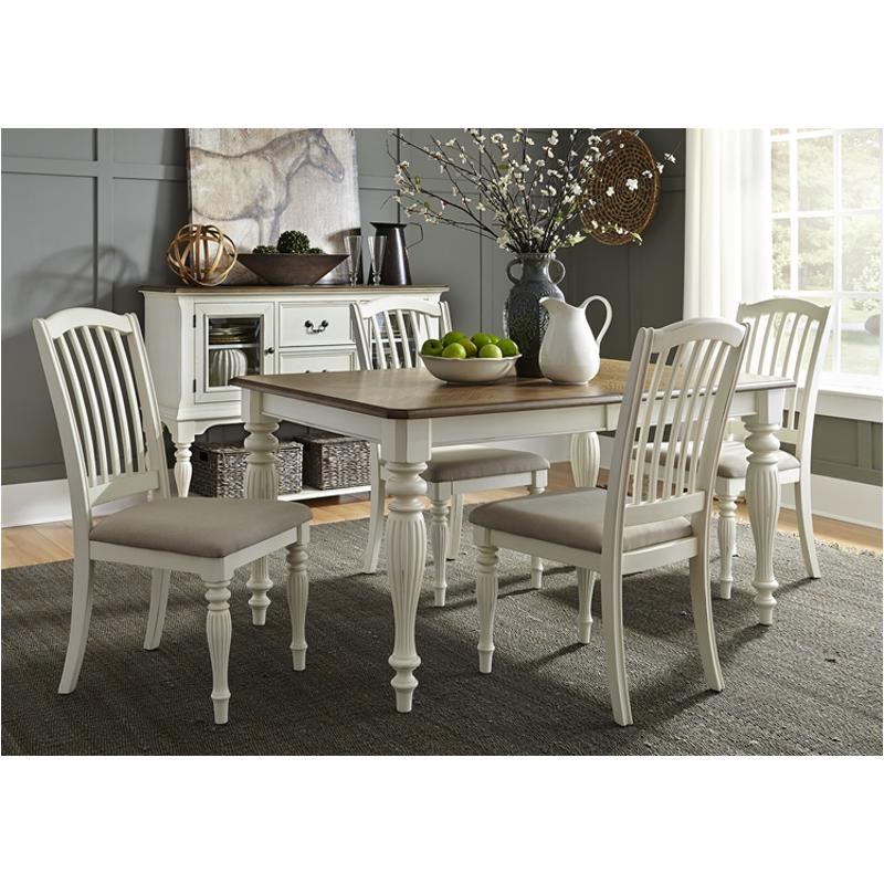 334 T4078 Liberty Furniture Cumberland Creek Dining Room Dinette Table