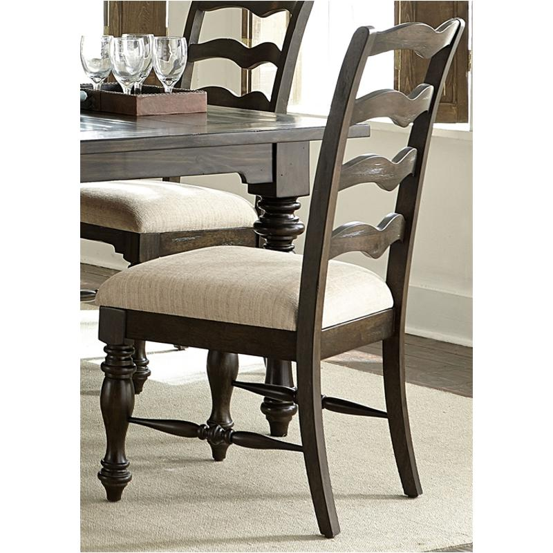 818 C2001s Liberty Furniture Ladder Back Side Chair