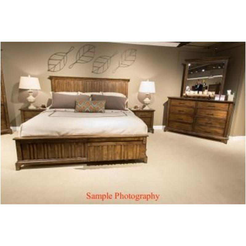 458 Br15 Liberty Furniture Mill Creek Bedroom Bed