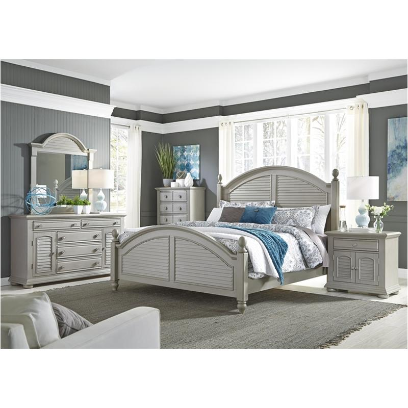 407 Br01 Liberty Furniture Queen Poster Bed