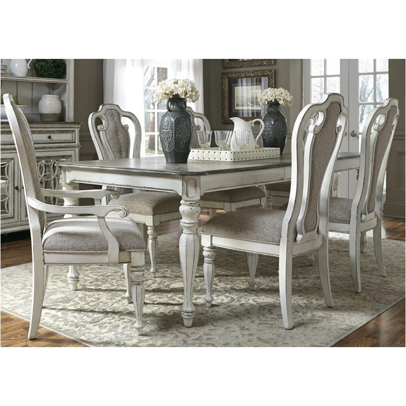 244 T4408 Liberty Furniture Magnolia Manor Rectangular Leg Table