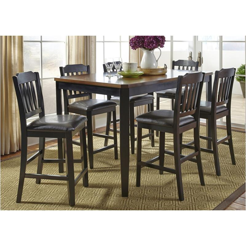 284 Cd 7gts Liberty Furniture Devonwood Dining Room Table