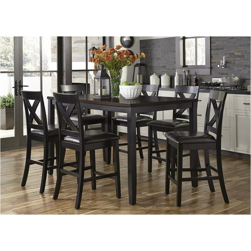 Charmant 464 Cd 7gts Liberty Furniture Thornton Ii 7 Piece Gathering Table Set