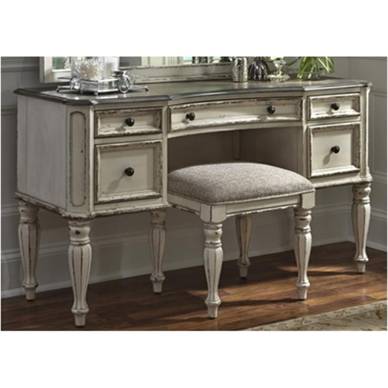 244-br35 Liberty Furniture Magnolia Manor Vanity Desk
