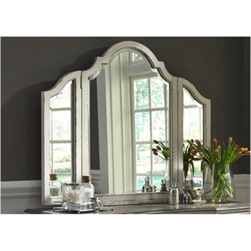 244-br55 Liberty Furniture Magnolia Manor Vanity Mirror