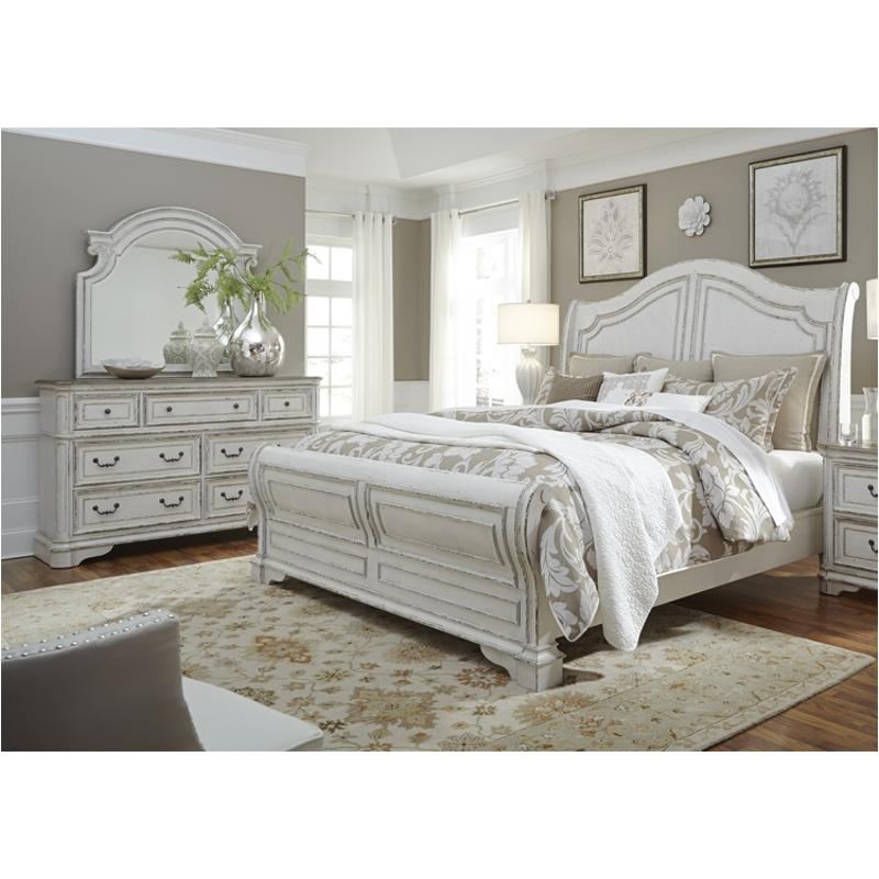 244 Br21h Liberty Furniture Magnolia Manor Queen Sleigh Bed