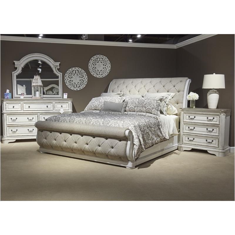 244 Br21hu Liberty Furniture Magnolia Manor Bedroom Bed