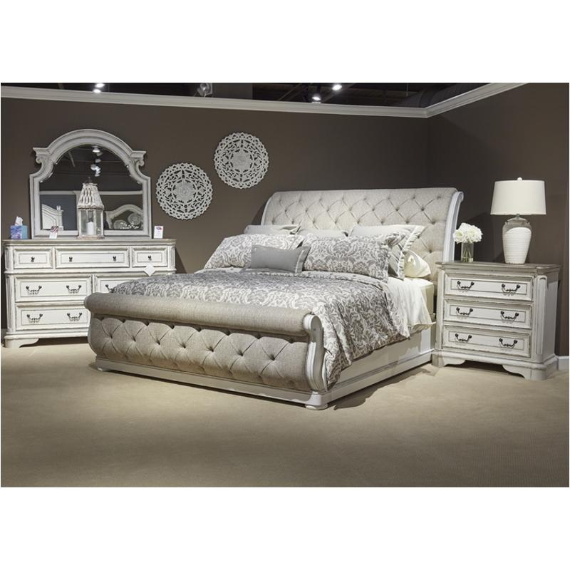 244 Br22hu Liberty Furniture Magnolia Manor Bedroom Bed