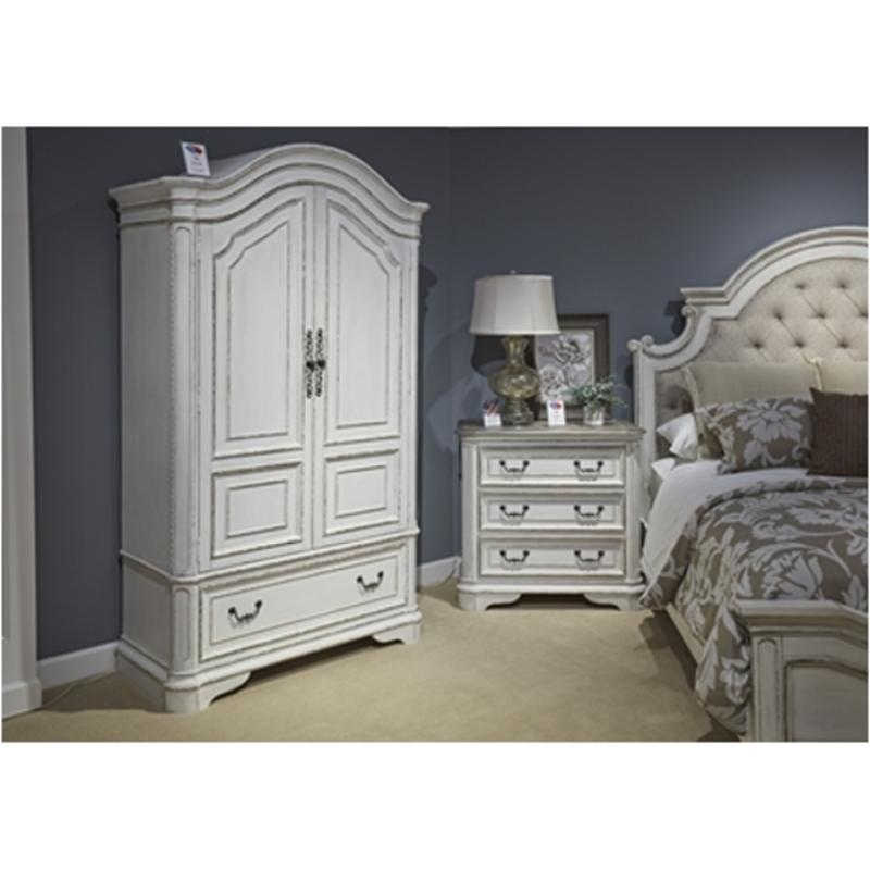 244 Br46 Liberty Furniture Magnolia Manor Bedroom Armoire