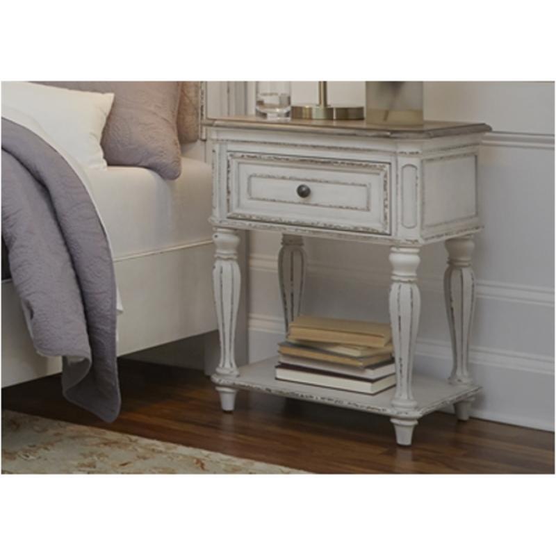 buy online 8d965 993f4 244-br63 Liberty Furniture Magnolia Manor Leg Nightstand