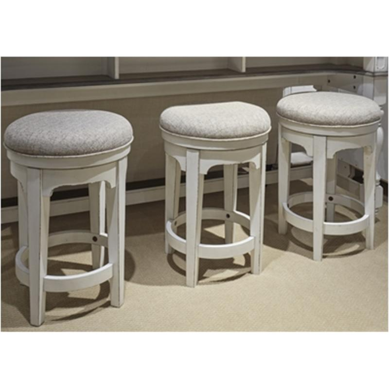 244-ot9003 Liberty Furniture Magnolia Manor Console Swivel Stool
