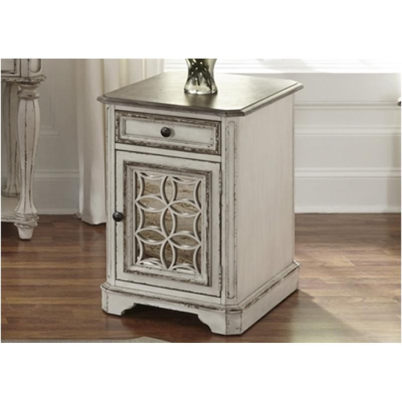 244-ot1021 Liberty Furniture Magnolia Manor Chair Side Table