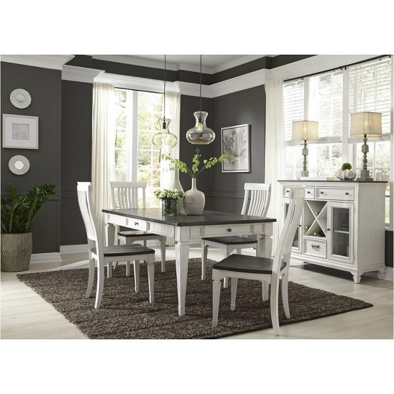 417 T4072 Liberty Furniture Allyson Park Rectangular Leg Table