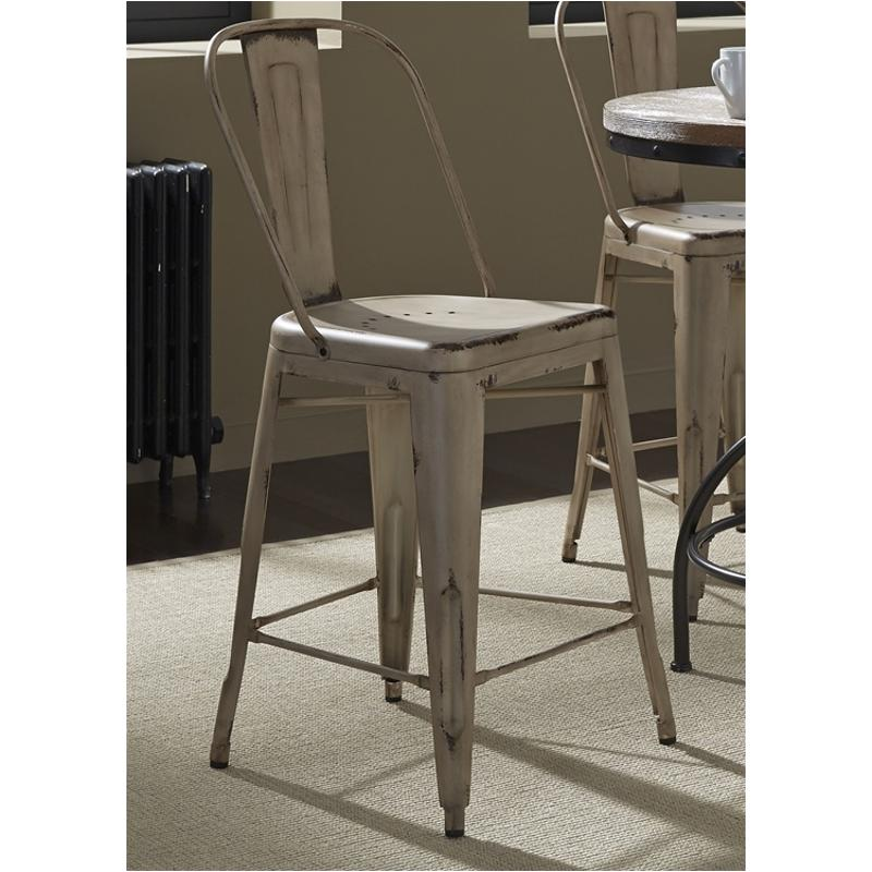 Incredible 179 B350530 W Liberty Furniture Prescott Valley Bow Back Counter Chair Vintage White30 Ocoug Best Dining Table And Chair Ideas Images Ocougorg
