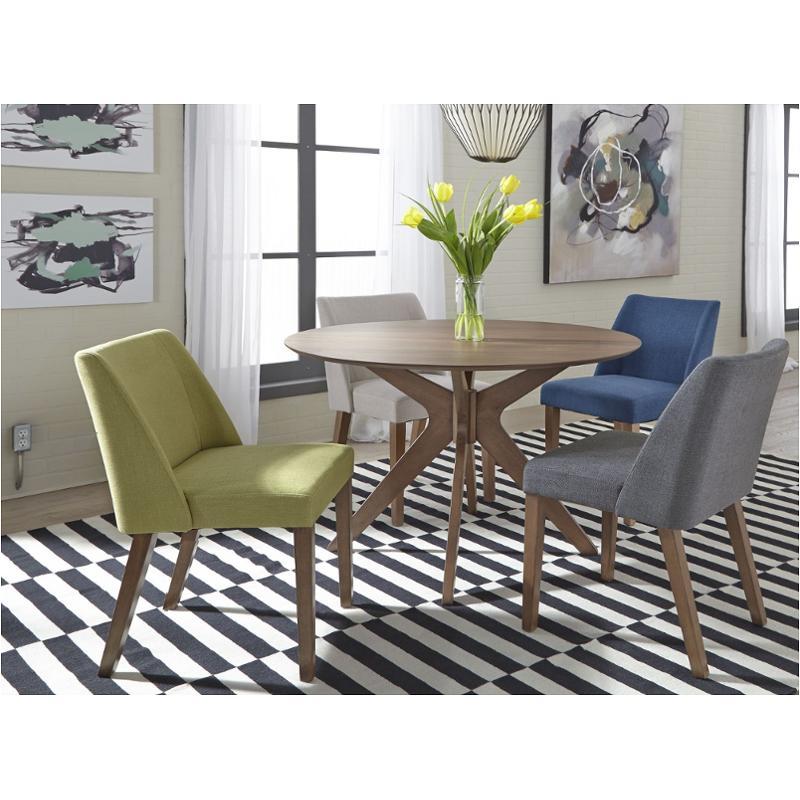 198 T4747 Liberty Furniture E Savers Round Pedestal Table