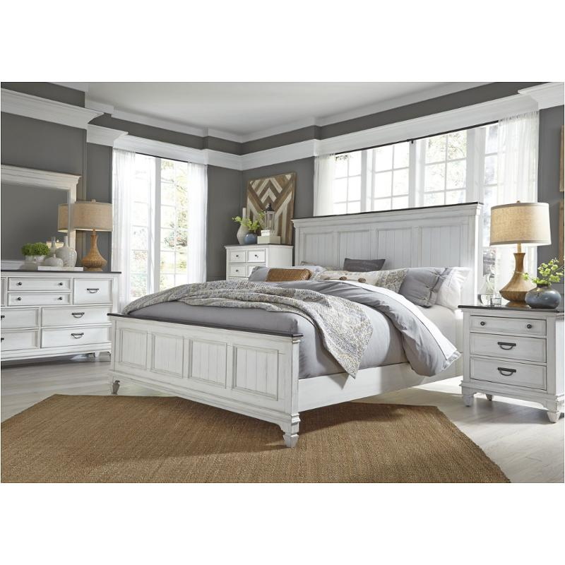 417 Br13 Liberty Furniture Allyson Park Bedroom Queen Panel Bed