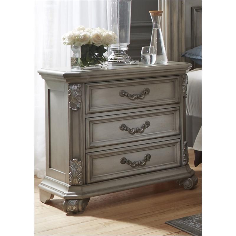 best website 41b95 b5d6e 537-br61 Liberty Furniture Messina Estates 3 Drawer Nightstand