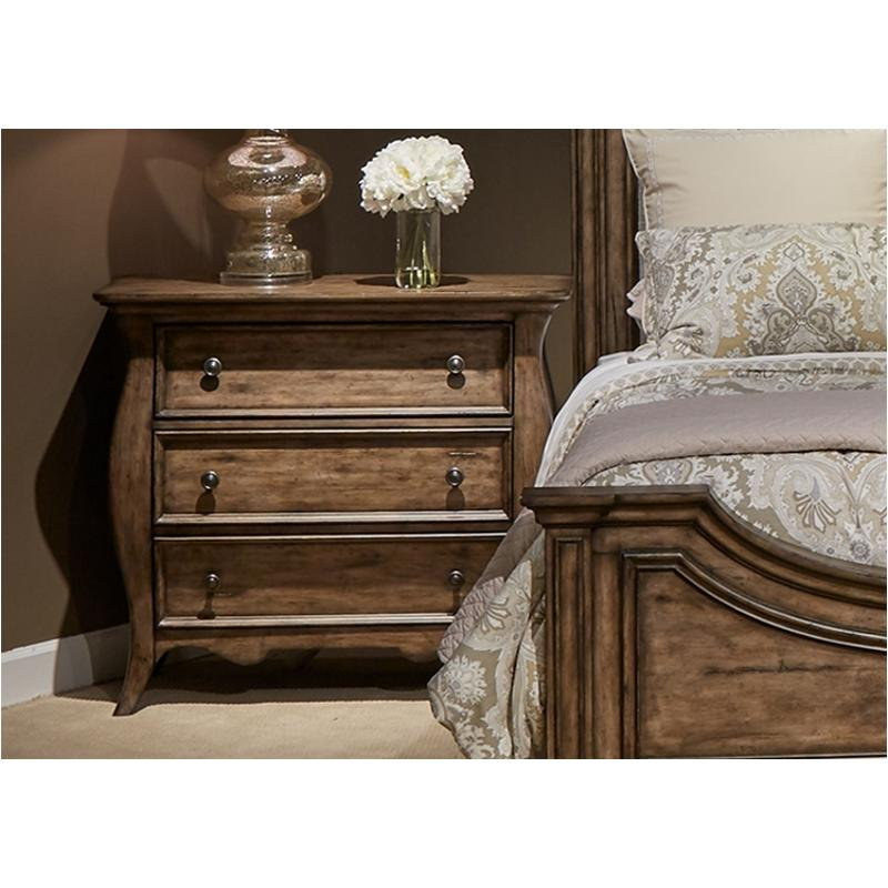 598 Br62 Liberty Furniture Parisian Marketplace 3 Drawer Bedside Chest