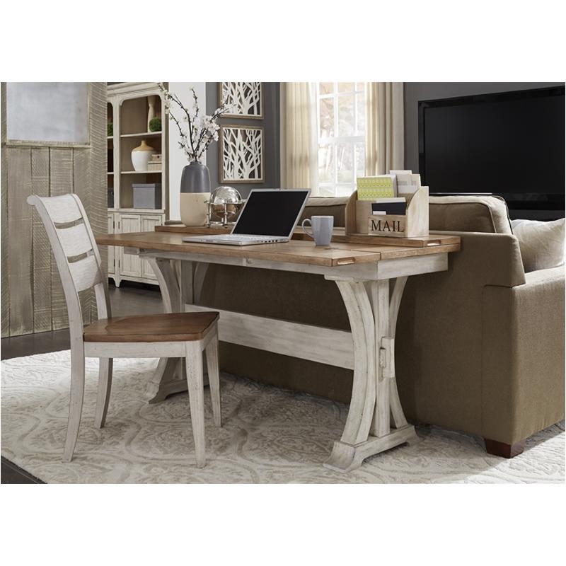652 Ot1031 Liberty Furniture Farmhouse Reimagined Flip Lid Sofa Table