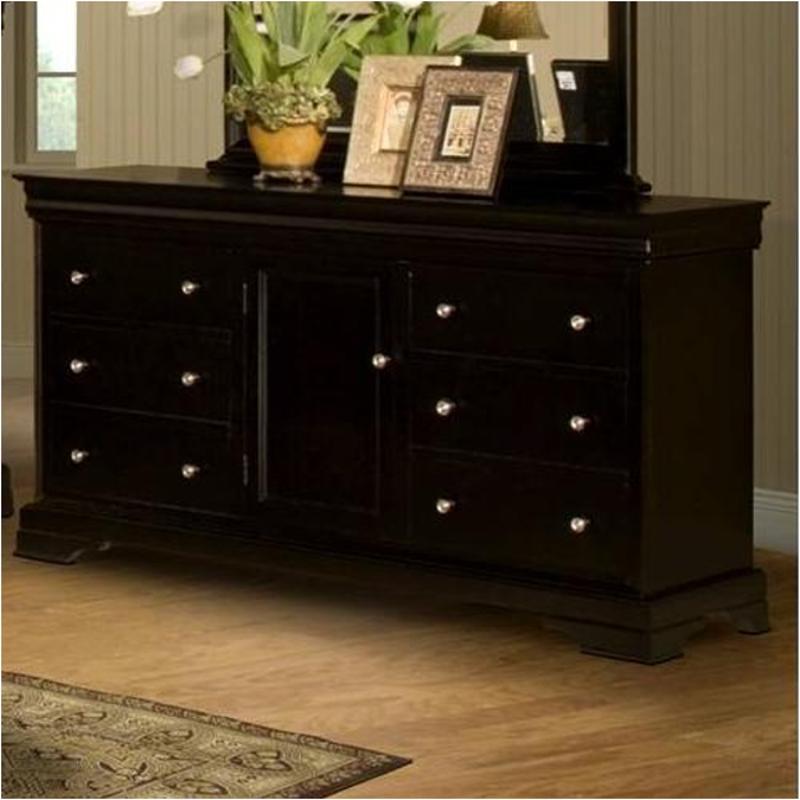 00 013 050 New Classic Furniture Belle Rose Bedroom Dresser