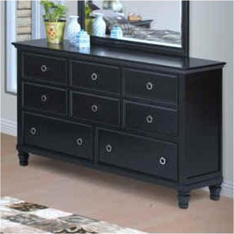 00 045 050 new classic furniture tamarack black dresser 10848 | 00 045 050