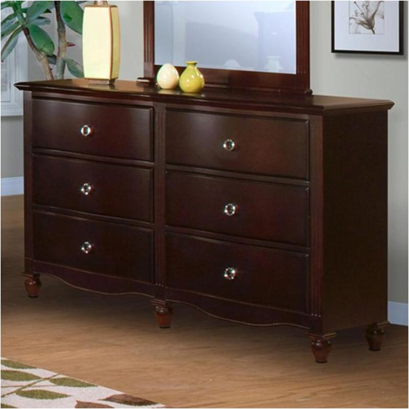 00 623 050 New Classic Furniture Victoria   Espresso Bedroom Dresser