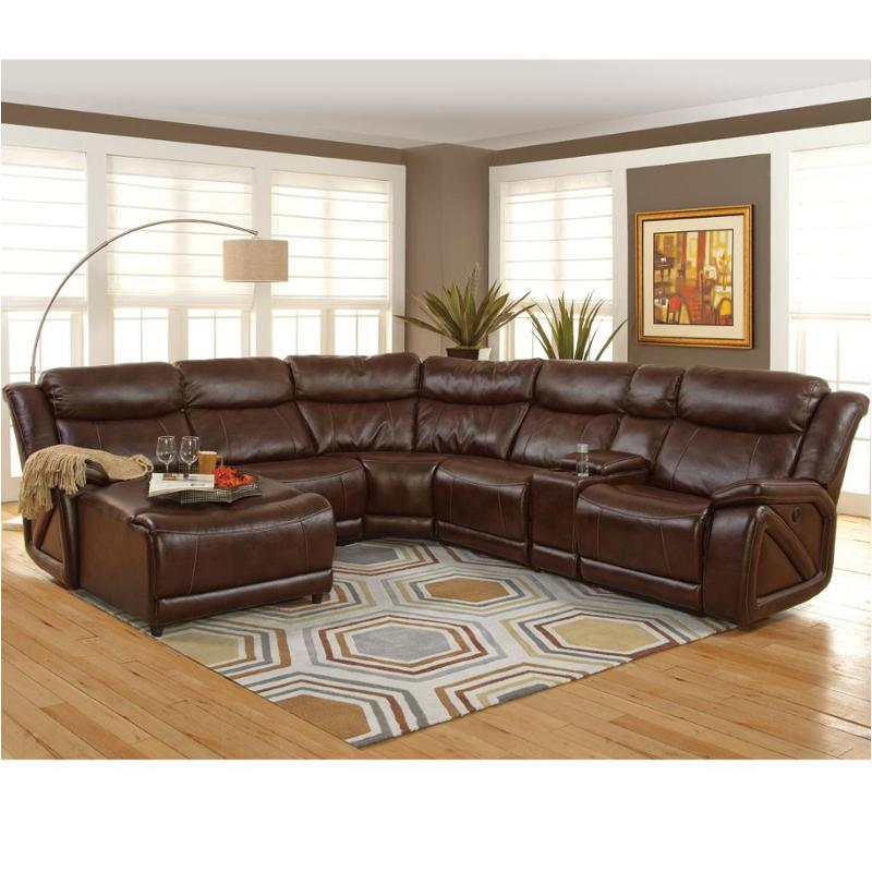 22 225 17r pbw new classic furniture park place sectional for Place furniture