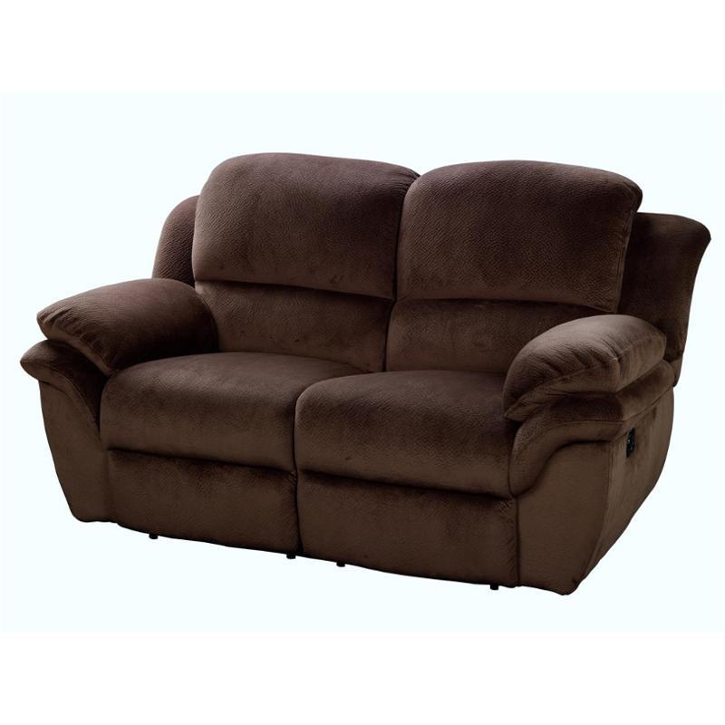 Superb 20 897 20 Pch New Classic Furniture Pebble Dual Recliner Loveseat Chocolate Creativecarmelina Interior Chair Design Creativecarmelinacom